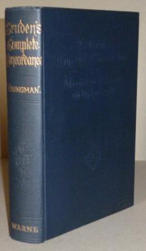 CRUDEN, Alexander. (With a memoir by William Youngman).